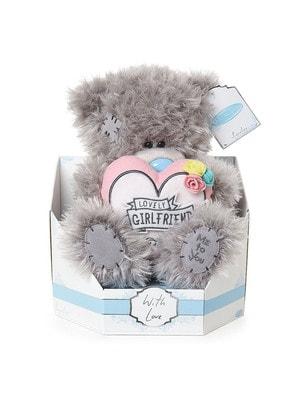 """Іграшка М'яка, Ведмедик Тедді з серцем """"Коханій дівчині"""" 23 см, Me To You Великобританія"""