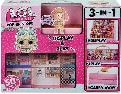 Іграшка Набір, L.O.L-Модний подіум 3в 1(ексклюзивна  лялька в комплекті), MGA США