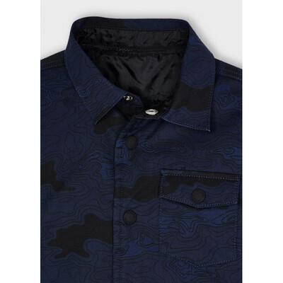 Куртка, двостороння, міжсезоння, Темно-синій, Mayoral Іспанія, 22OZ