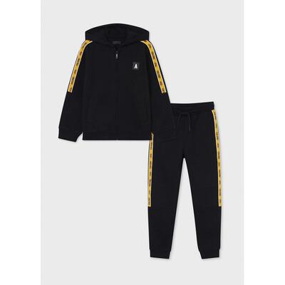 Комплект Спортивний, Кофта + штани, утеплений, Чорний, Mayoral Іспанія, 22OZ