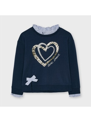 Пуловер, Темно-синій, Mayoral Іспанія, 21VL
