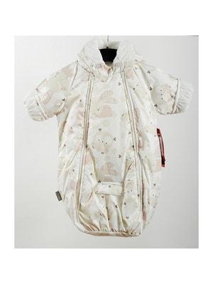 Комбінезон-сумка (зайчата, сови) BLISS, Білий, Lenne Естонія, 20OZ