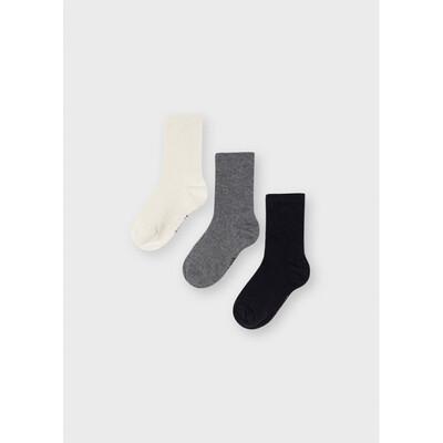 Шкарпетки, 3 пари, Чорний, Mayoral Іспанія, 22OZ