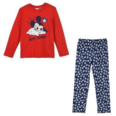 Піжама, серія Disney   MICKEY Джемпер + сині штани, Червоний, Sun City Франція, 21OZ
