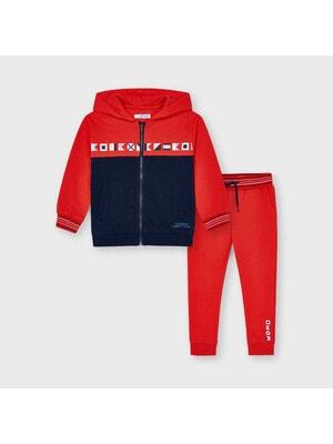 Комплект Спортивний, Кофта + штани, Червоний, Mayoral Іспанія, 21VL