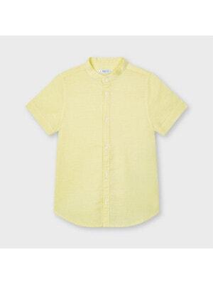 Сорочка, короткий рукав, Жовтий, Mayoral Іспанія, 21VL