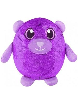 Іграшка М'яка Прудкий Kотик з пайетками  (36см)