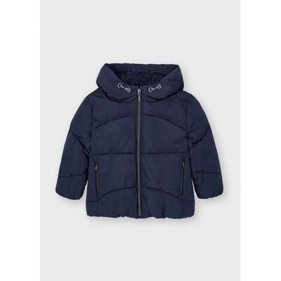 Куртка, з капюшоном, Темно-синій, Mayoral Іспанія, 22OZ