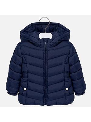 Куртка, з капюшоном, Темно-синій, Mayoral Іспанія, 19OZ