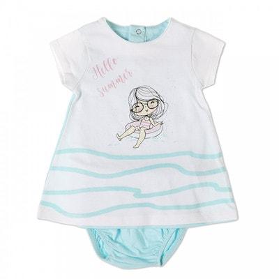 Комплект, Сукня + труси, Блакитний, Babybol Іспанія, 19VL