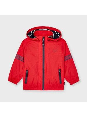 Куртка, з капюшоном, Червоний, Mayoral Іспанія, 21VL