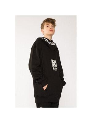Пуловер, з капюшоном, Чорний, Reporter young Польща, 21VL