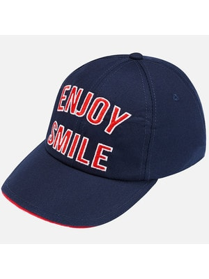 Головний убір Кепка, червоним ENJOY SMILE, Темно-синій, Mayoral Іспанія, 19VL