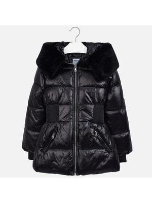 Куртка, з капюшоном, Чорний, Mayoral Іспанія, 20OZ