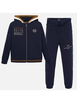 Костюм Спортивний, Кофта + штани, Темно-синій, Mayoral Іспанія, 20OZ