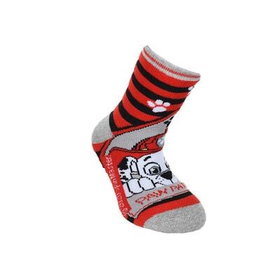 Шкарпетки, з АБС   PAW  PATROL, Червоний, Sun City Франція, 21OZ