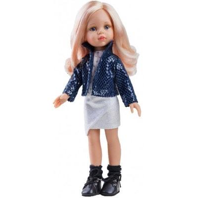 Іграшка Лялька, Карла в синьому жакеті 32см, Paola Reina Іспанія