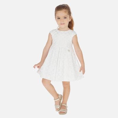 Сукня, в горошок, Білий, Mayoral Іспанія, 20VL