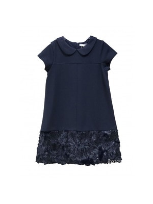 Сукня, короткий рукав, Темно-синій, Dr.Kid Португалія, 19OZ