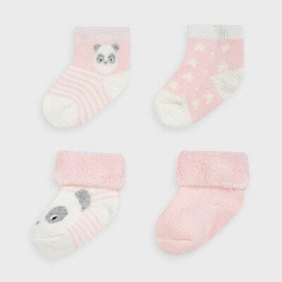 Набір шкарпеток 4 пари, Рожевий, Mayoral Іспанія, 21OZ