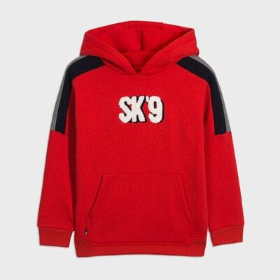 Пуловер, з капюшоном, Червоний, Mayoral Іспанія, 21OZ