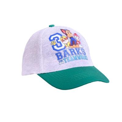 Головной убор кепка, сэр. PAW Patrol, Зеленый, Disney Польша, 21OZ