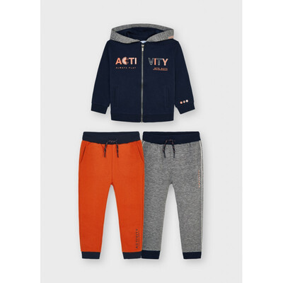 Комплект Спортивний, Кофта + штани 2 шт., утеплений, Темно-синій, Mayoral Іспанія, 22OZ