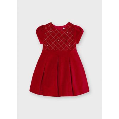 Сукня, короткий рукав, Червоний, Mayoral Іспанія, 22OZ
