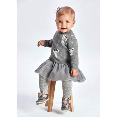 Сукня, + светер, Сірий, Mayoral Іспанія, 22OZ