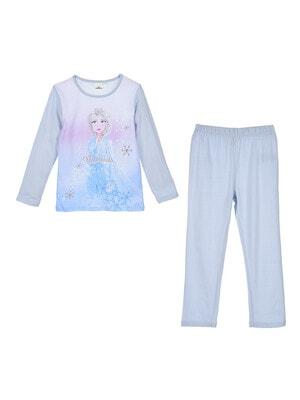 Піжама, серія Disney  FROZEN Джемпер + штани, Блакитний, Sun City Франція, 21OZ