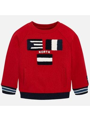Пуловер, NORTH, Червоний, Mayoral Іспанія, 20OZ