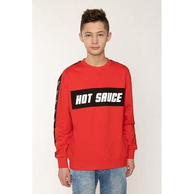 Пуловер, HOT SAUCE, Червоний, Reporter young Польща, 21OZ