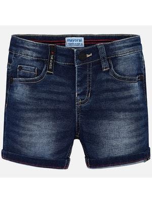Шорти, джинсові, Темно-синій, Mayoral Іспанія, 19VL