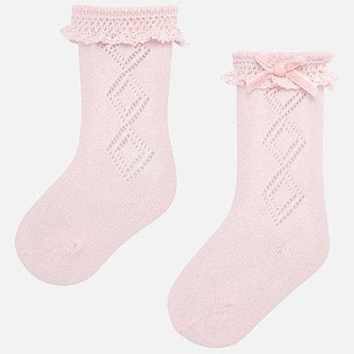 Шкарпетки, Рожевий, Mayoral Іспанія, 20OZ