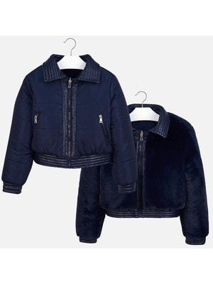 Куртка, Темно-синій, Mayoral Іспанія, 20OZ