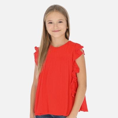 Блуза, Червоний, Mayoral Іспанія, 20VL