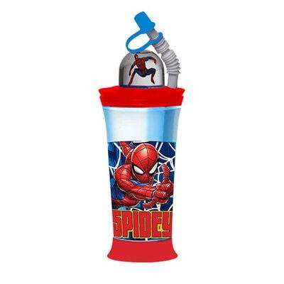 """Пляшка для пиття 440 мл  """"SPIDERMAN"""", Синій, Disney Польща"""