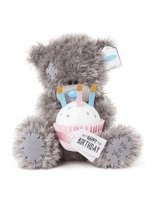 Іграшка М'яка, Ведмедик Тедді з тортиком,  30 см, Me To You Великобританія