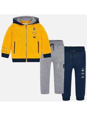 Костюм Спортивний, Кофта + штани 1-сині, 2-сірі, Жовтий, Mayoral Іспанія, 20OZ