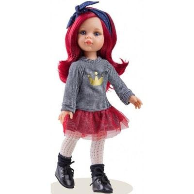 Іграшка Лялька, Даша з червоним волоссям 32см, Paola Reina Іспанія