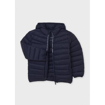 Куртка, з капюшоном, міжсезоння, Темно-синій, Mayoral Іспанія, 22OZ
