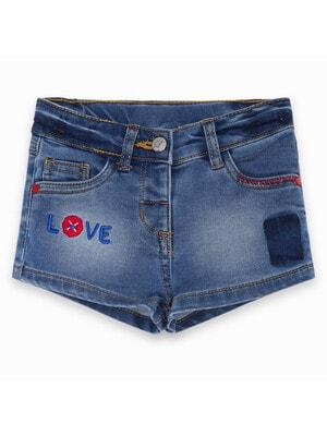 Шорты, джинсовые, светлые, синий, TucTuc Испания, 20VL