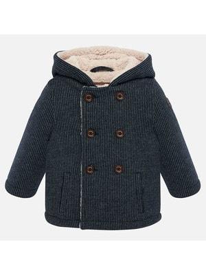 Пальто, з капюшоном, Синій, Mayoral Іспанія, 20OZ