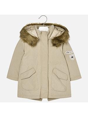 Куртка, Парка з капюшоном, Бежевий, Mayoral Іспанія, 19OZ