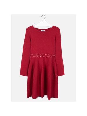 Сукня, довгий рукав, Червоний, Mayoral Іспанія, 20OZ
