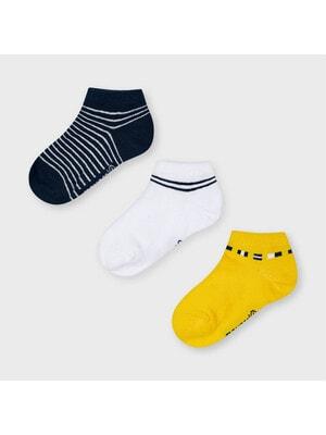 Шкарпетки, 3 пари, Жовтий, Mayoral Іспанія, 21VL