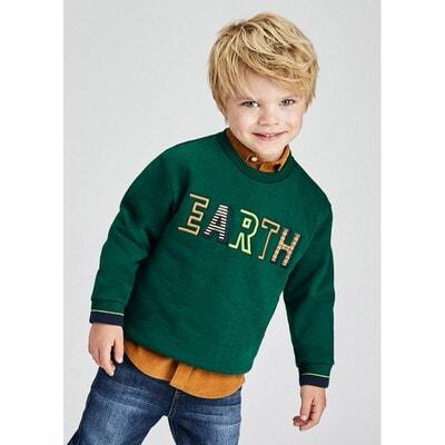 Пуловер, утеплений, Зелений, Mayoral Іспанія, 22OZ