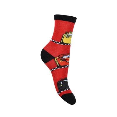 Шкарпетки, 3 пари, CARS 3, Червоний, Sun City Франція, 21OZ