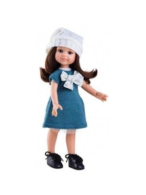 Игрушка Кукла Клео в вязаной зеленом платье 32см, Paola Reina Испания