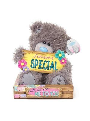 Іграшка М'яка, Ведмедик Тедді з табличкою  Someone Special,  18 см, Me To You Великобританія